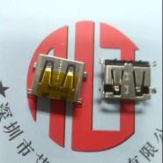 短体沉板USB母座图片