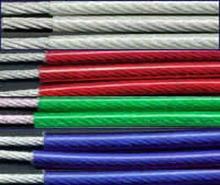供应耐磨5.0-7.0涂塑钢丝绳悦顺金属