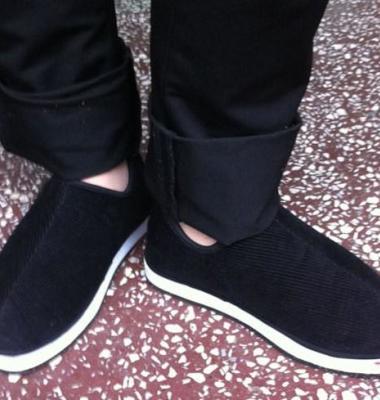 毛线棉鞋图片/毛线棉鞋样板图 (1)