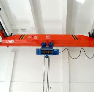 神州牌LX型电动单梁悬挂起重机图片