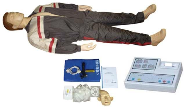 供应高级自动电脑心肺复苏训练模拟人型号KH-CPR280X
