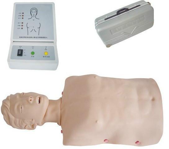 供应半身心肺复苏训练模拟人型号KH-CPR180