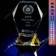 上海水晶工艺品/水晶底座摆件生产图片