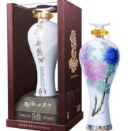 国花瓷西凤酒50年领秀级52度高端图片
