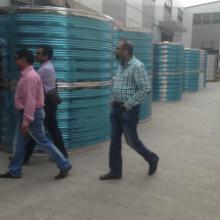 立式水箱定制-圆形保温水箱厂家制作-圆形储水容器报价