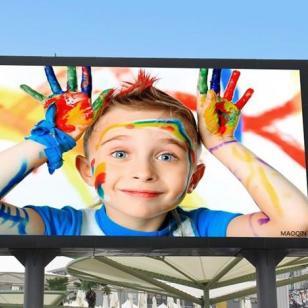 室外LED大屏幕租赁图片