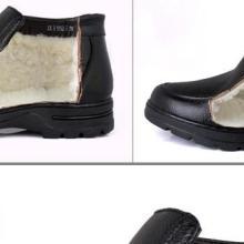 供应冬季男士棉鞋保暖鞋男羊毛棉皮批发
