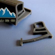 供应耐磨抗撕硅胶密封条各种尺寸形状各异