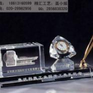 泉州公司年终比赛水晶奖杯制作图片