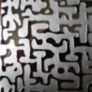 不锈钢自由纹蚀刻钛金板批发商图片
