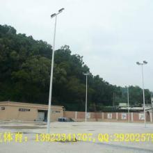 供应南宁篮球场灯杆、羽毛球场灯柱、足球场灯杆安装