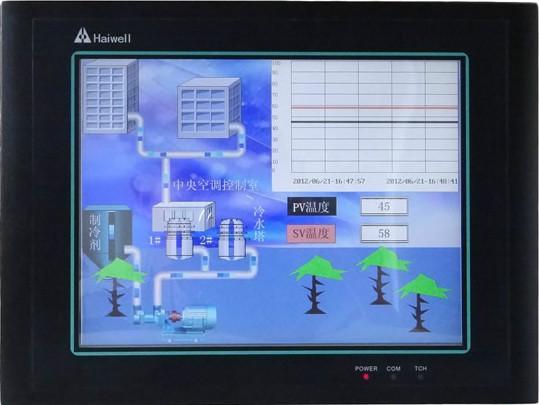 触摸屏原图 供应进口plc海为10.4寸触摸屏hd104t
