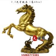 铜马摆件纯铜跃马摆设图片