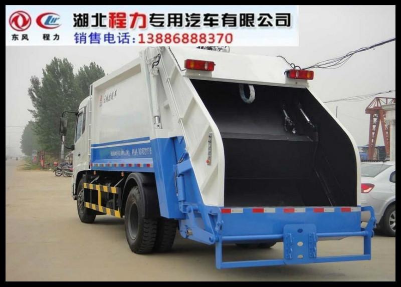 【东风多利卡压缩式垃圾车价格_东风多利v价格产品图纸研发编号图片