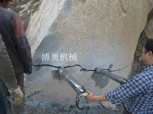 供应收购青石大理石石灰石液压劈裂器厂家