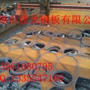 沙钢A3锰板45钢板切割件图片