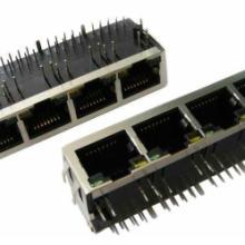 供应14插座带灯带滤波器器圆针网络接口屏蔽全包连接器批发