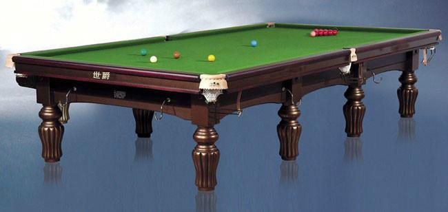 供应绅迪牌英式台球桌黑白落袋台