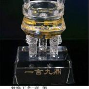 武汉最佳诚信企业水晶鼎纪念品图片