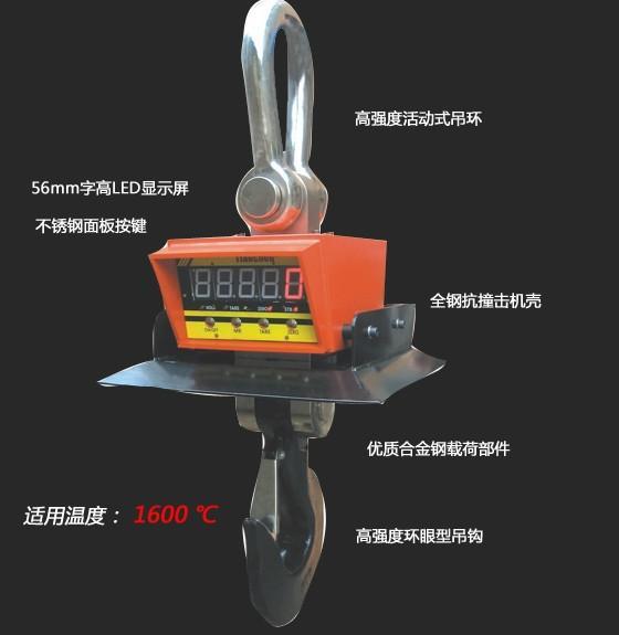 供应耐高温电子吊秤友声耐高温