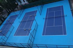 供应重庆网球场建造--塑胶球场工程施工