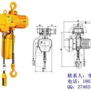3T运行式环链电动葫芦图片
