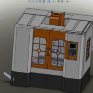 浙江1060型立式加工中心光机图片