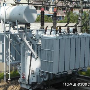 上海油浸式电力变压器回收图片