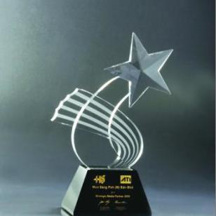 吉林水晶奖杯厂家直销水晶奖杯图片