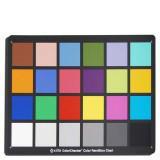 供應24色卡色彩測試標板愛色麗X-Rit圖片