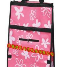 折叠购物袋购物包(底部带轮)礼品袋购物车