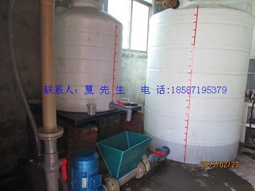 供应昆明耐强酸强碱的PE储罐/化工罐/防腐罐/搅拌罐