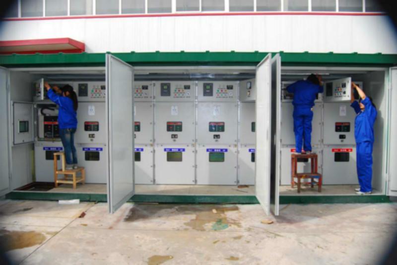 河南箱式变电站供应商样板; 鹤壁箱式变电站厂家生产供应商:平顶山图片