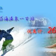 呼和浩特冬季到岱海滑雪旅游图片