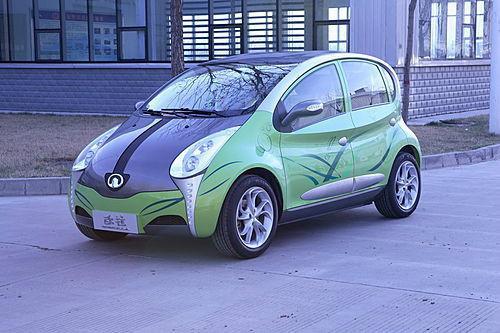 电动汽车 电动汽车供货商 长城欧拉电动汽车 高清图片