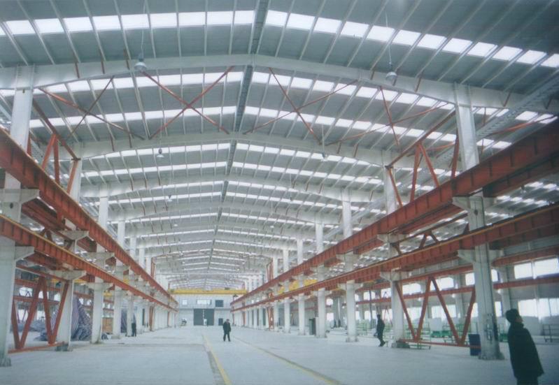 供应轻钢结构厂房图片