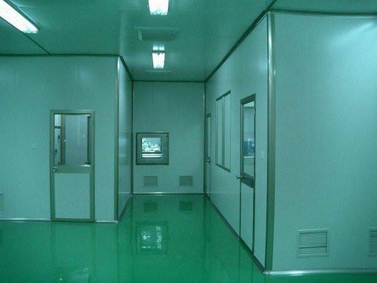 供应惠州净化车间PVC防静电塑胶地板图片
