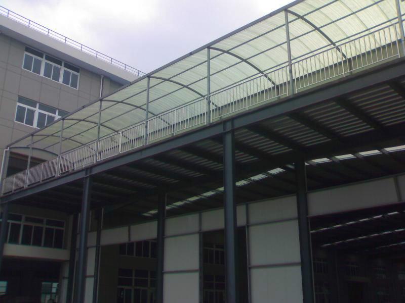 供应广东轻钢结构厂房图片