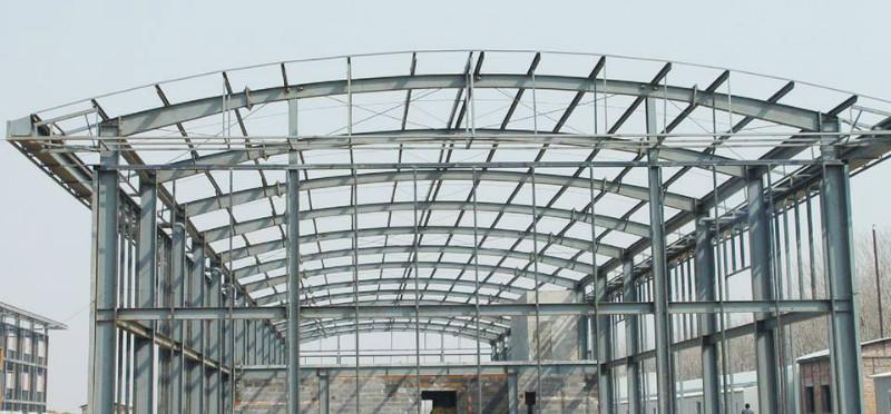 供应广东钢结构厂房设计图片