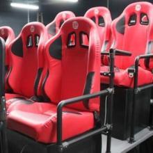 供应秒杀 高弹海绵 5D影院座椅 游戏赛车专用座椅 高仿皮 舒适4D