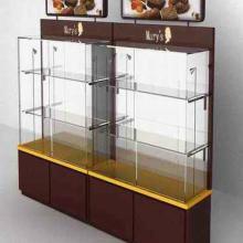 供应天津精品货架钛合金货架烤漆展柜柜台图片