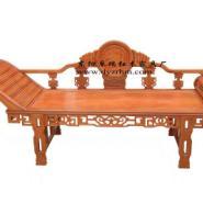 非洲花梨木贵妃床图片