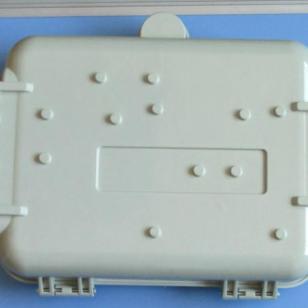 室内壁挂二槽道SMC光纤分光分纤箱图片