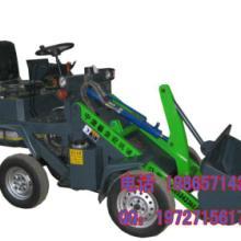 供应电动吊车挖掘装载机山东小型装载机专用抓草机简易装载机