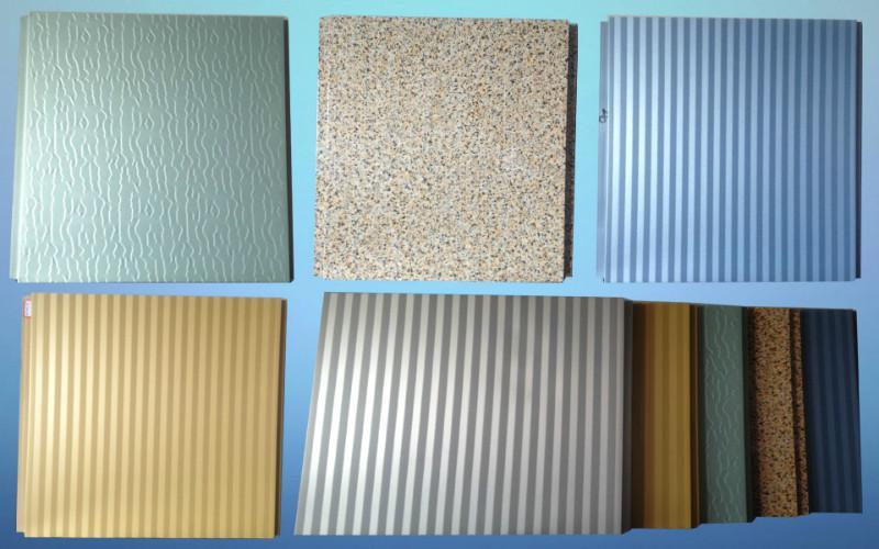 供应保温装饰一体化板,防火保温材料,外墙装饰板,罗宝板