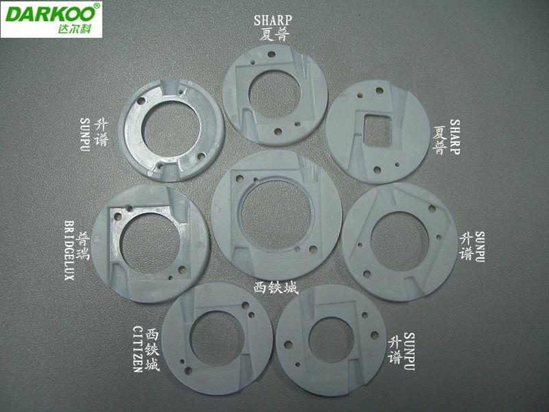 供应中山光学模具COB反光杯塑料支架