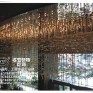 酒店水晶灯具定制工程水晶灯图片
