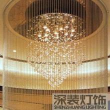 供应酒店照明古镇灯饰宴会厅水晶灯