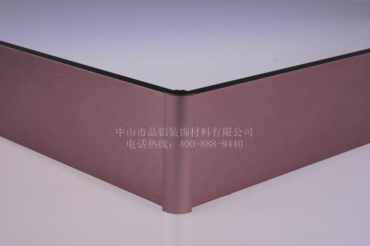 供应装饰线板铝合金踢脚线