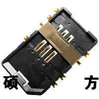 供应沉板式SIM卡座,卡座,TF卡座